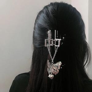 New Big Size Flower Retro Hair Claws for Women Girls Hair Barrettes Hairpin Crab Metal Hair Claw Clips Hair Accessories Headwear