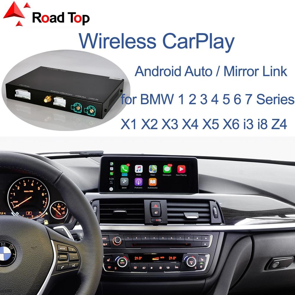 Inalámbrico CarPlay para BMW sistema NBT 1 2 3 4 5 7 Serie X1 X3 X4 X5 X6 MINI F56 F15 F16 F25 F26 F48 F01 F10 F11 F22 F20 F30 F32