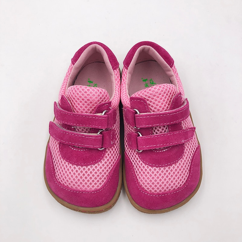 Tipsietoes Top Brand 2021 Spring Fashionable Net Breathable Sports Running Shoes For Girls And Boys Kids Barefoot Sneakers