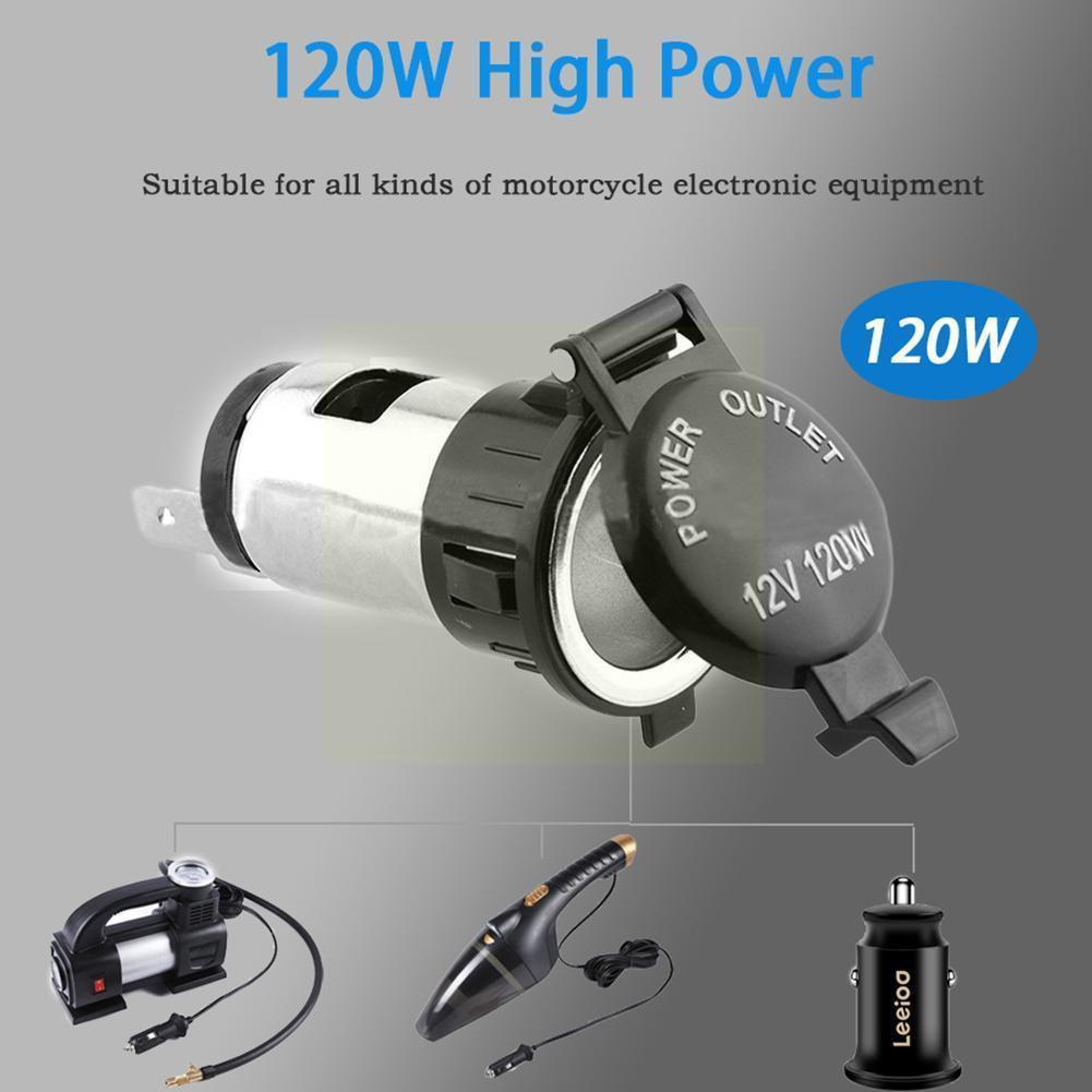 12v Car Cigarette Cigar Lighter Socket Charger Power Supply Waterproof Outlet Y2i9