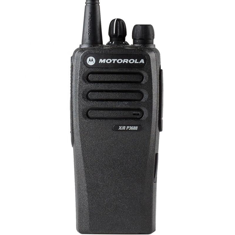 نحيف ومفيد ثنائي النطاق VHF UHF يده لاسلكي تخاطب موتورولا XIR P3688