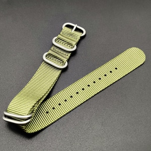 Nylon Straps 20mm 22mm Nylon Watch Band NATO Strap Zulu Strap Watch Atrap Ring Buckle 280mm Nato Watchband Steel Diving Strap