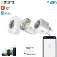 TREKSTOR WiFi 10A Remote Switch Smart Timing Control Home Appliances Works With Alexa Google Home Monitor Power