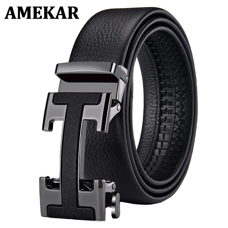 Male Belt New Designer Men's Belts Luxury Man Fashion Belt Luxury Brand for Men High Quality Automat