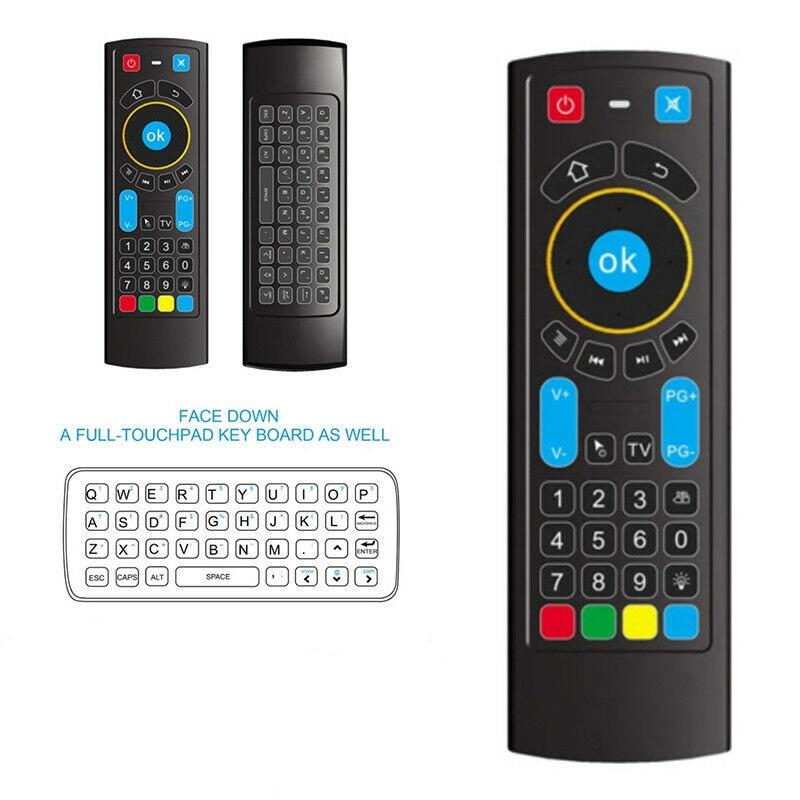 2,4G Bluetooth Mini teclado inalámbrico Control remoto IR ratón de aire para Amazon Fire TV Stick/fuego TV Box