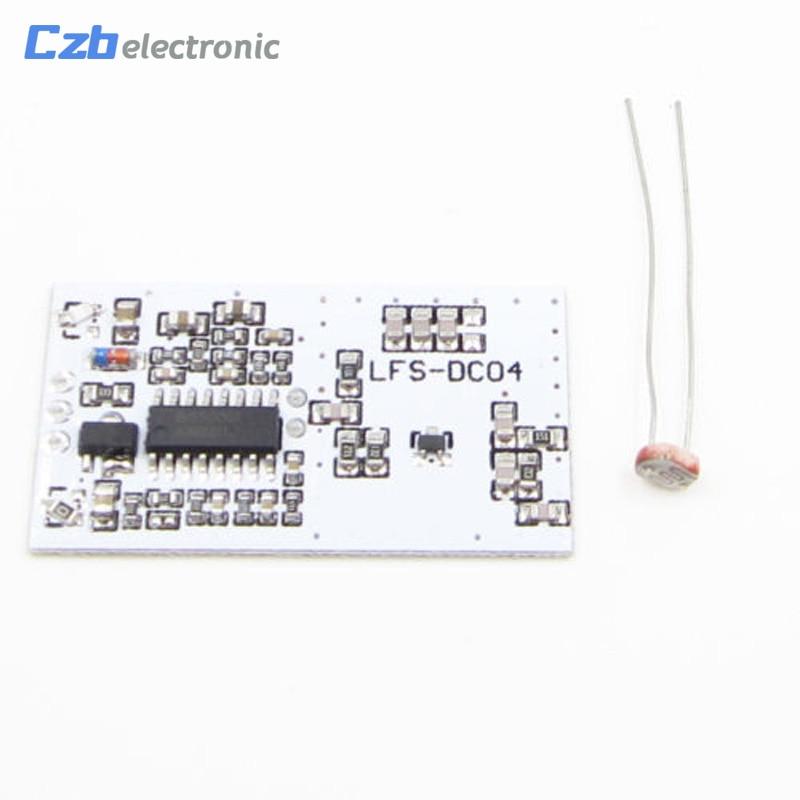 LFS-DC04 2,7 GHz 5-8m de Radar de microondas, módulo de Sensor de 2,7G 360 grado alto nivel de señal MOS de salida DC 5V T8 LED