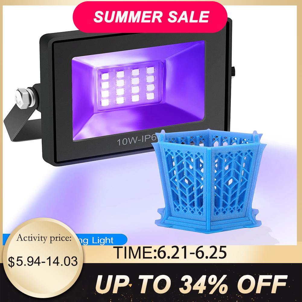 AliExpress - High Quality 110-260V 405nm UV LED Resin Curing Light Lamp for SLA DLP 3D Printer Photosensitive Accessories Hot sale