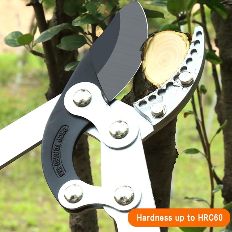 Sodo medžių genėjimo žirklės aukštų šakų genėjimo įrankiu - Sodo įrankiai - Nuotrauka 5