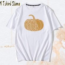 Women's Tees & Tops Female Summer Plus Tees Shirts  pumpkin tshirt Women t shirt Cute Hippie 80s 90s Tops