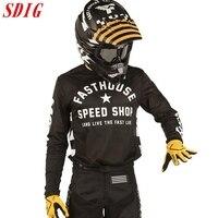 Футболка DH MX, одежда для езды на мотоцикле и велосипеде, с длинным рукавом