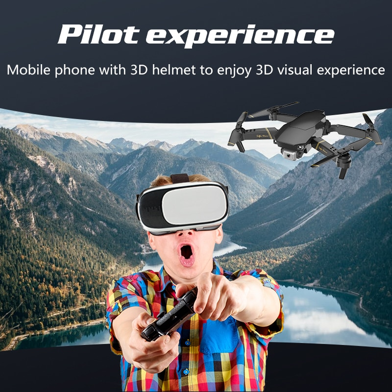 NYR 2021 New Drone GD89 WIFI FPV Drone with Wide Angle HD 4K 1080P Camera Height Hold Mode RC Foldable Quadcopter Gift for Kids enlarge
