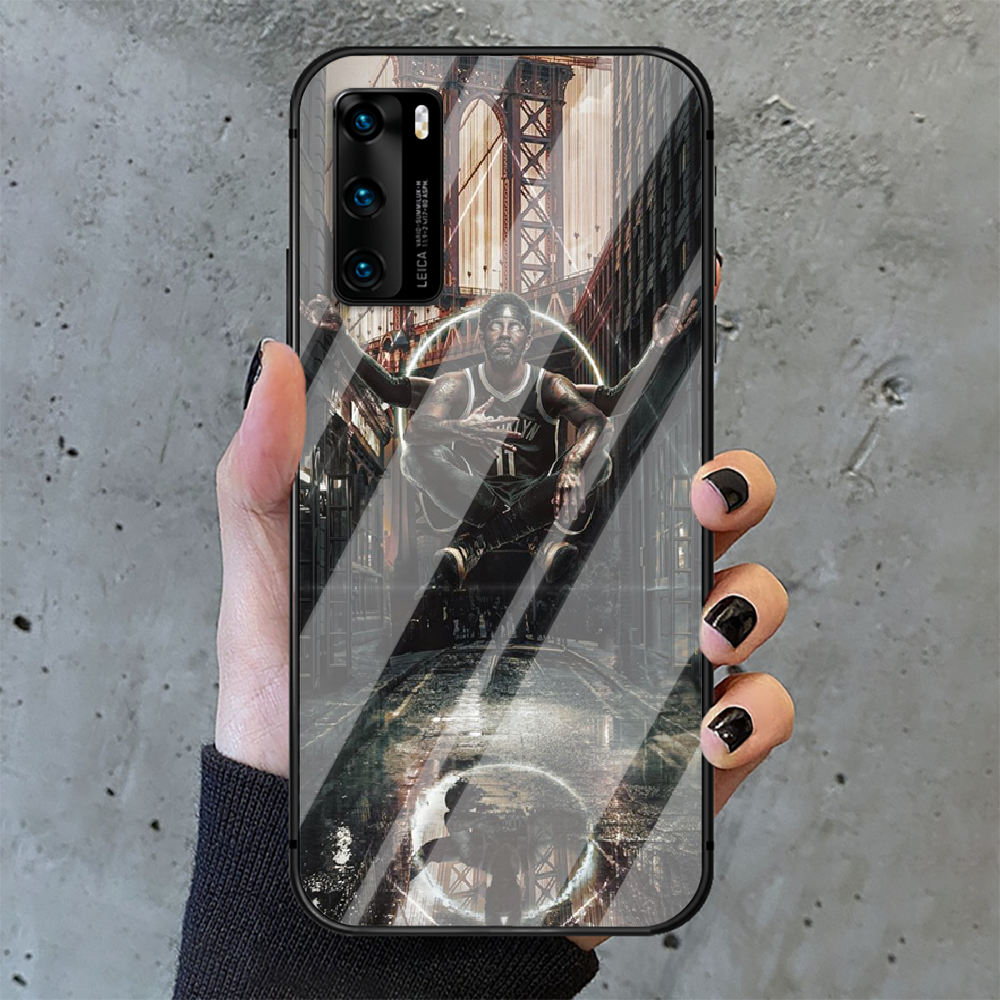 Kyrie Irving Basketball 11 Phone Tempered Glass Case Cover For Huawei P Nova Mate 5T 20 30 40 E Pro Lite Smart 2019 2021 Luxury  - buy with discount