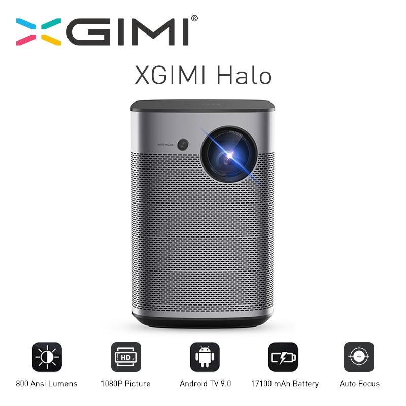XGIMI Halo DLP проектор 1080P Full HD Android 9 0 Портативный Proyector 800Ansi карман Кино с Батарея