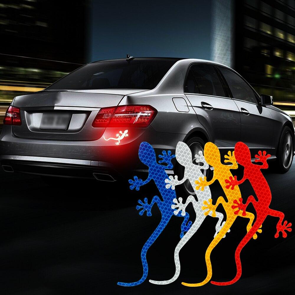 Светоотражающая наклейка Gecko для VW, Volkswagen polo, passat b5, golf 4, 5, 6, jetta mk6, tiguan, Gol, CrossFox Eos
