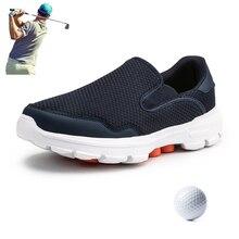 Verano otoño nuevos zapatos deportivos de Golf al aire libre cómodo hierba deportes zapatos Golf transpirable hombres negocios ocio Golf zapatillas