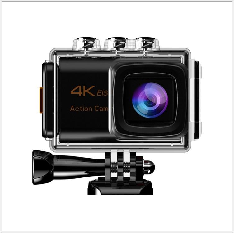 M80 Mstar كاميرا رياضية خارجية مع ميكروفون خارجي HD 4K خوذة غوص