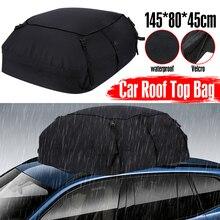 145x80x45cm universel étanche toit de voiture support porte-bagages sac de rangement de bagages voyage SUV Van pour voitures
