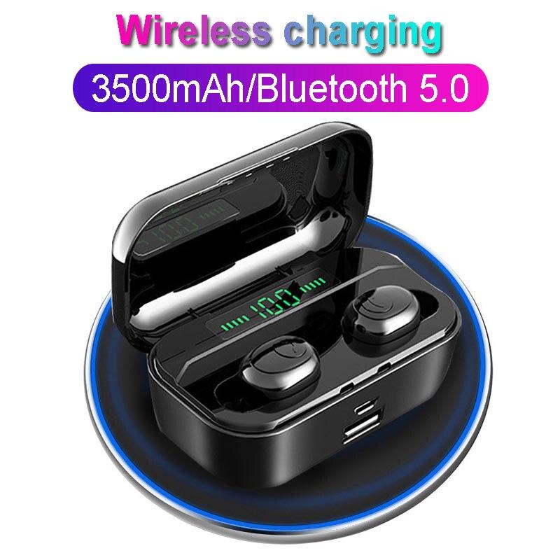 TWS G6S беспроводные наушники 8D стерео Bluetooth 5,0 наушники LED Дисплей гарнитура IPX7 водонепроницаемый earburd 3500mAh чехол для iphone