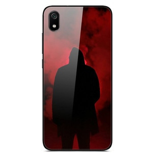 Case For Xiaomi Redmi 7A Tempered Glass Case Phone Case Back Phone Cover Series 3