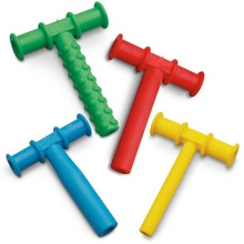 Anneau de dentition Chewy pour enfants   Tube à mâcher, moteur buccal pour bébé, outils de masquage, jouets de thérapie sensorielle pour lautisme, outil de thérapie de la parole