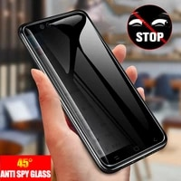 anti spy tempered glass for samsung galaxy note 20 s21 ultra s20 note 10 plus a51 a71 full privacy protection screen protector