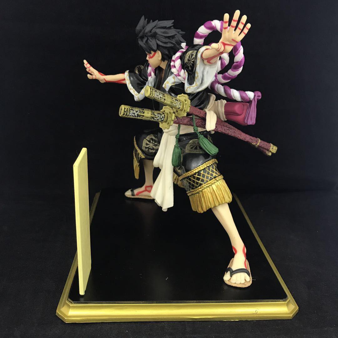 Anime una pieza mono D Luffy Kimono para Kabuki Edición de colección de figuras de acción modelo Brinquedos Juguetes