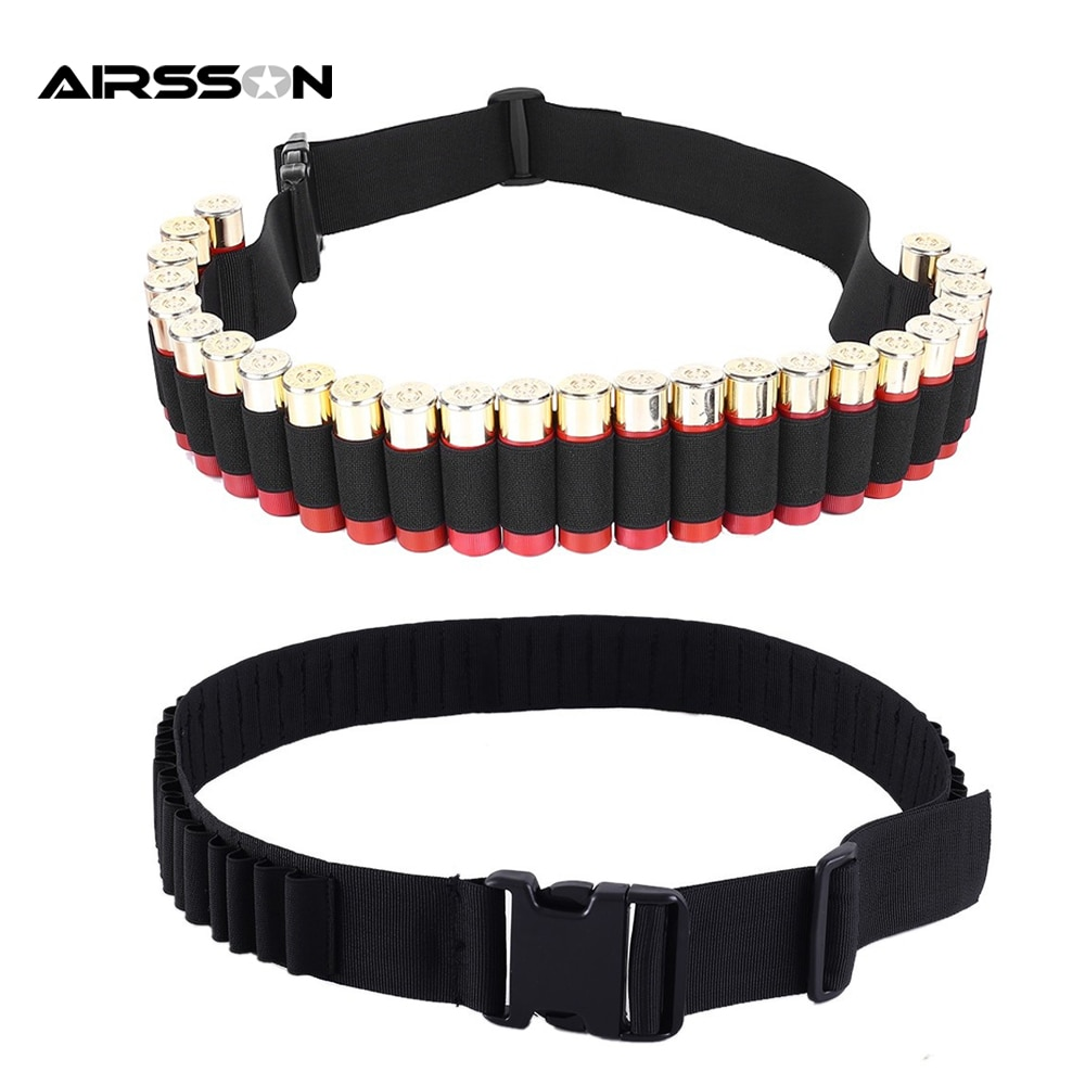 10 round 12gauge 12ga molle pouch tactical shell holder ammo bag military army hunting bandolier cartridges bullet holder bag 25 Rounds 12GA Tactical Shell Holder Military Shotgun Cartridge Bullet Ammo Carrier Airsoft Bandolier Belt Hunting Accessories