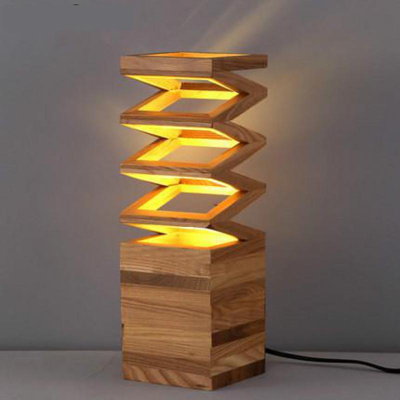 مصباح طاولة خشبي led حديث ، حامل طاولة ، 110-240 فولت ، لغرفة الدراسة ، المكتب ، التوصيل المجاني