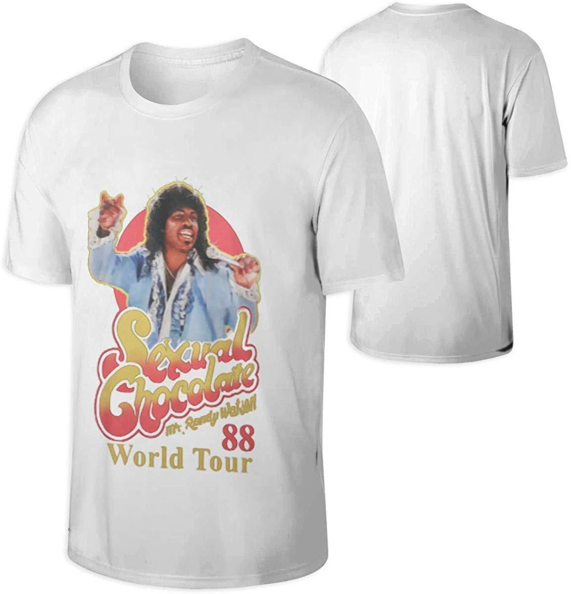 Nevaehbriella, Chocolate Sexual para hombres, Camiseta de algodón Randy Watson, Sudadera negra con capucha para hombres y mujeres