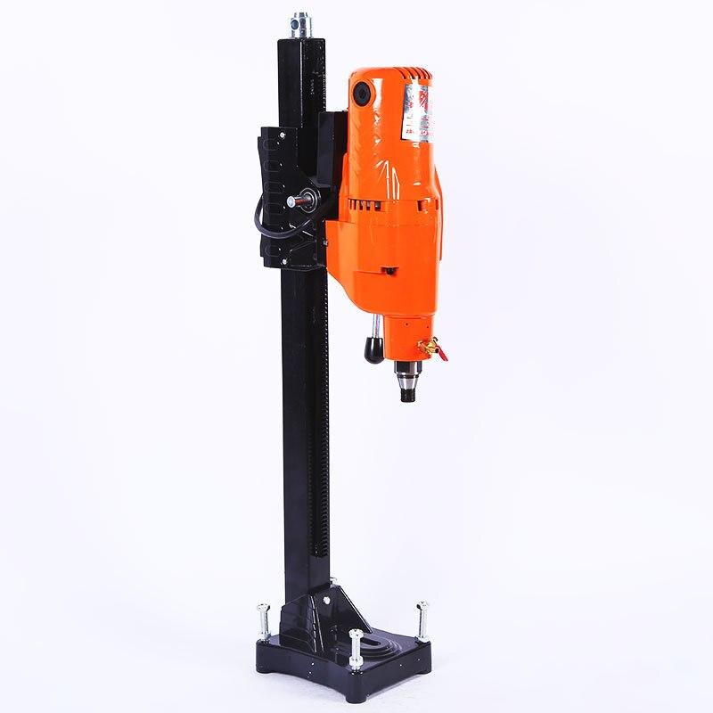 260 220V 4000W عالية الطاقة الماس ماكينة حفر المياه مطحنة العمودي الهيدروليكية الكهربائية حفر كبيرة