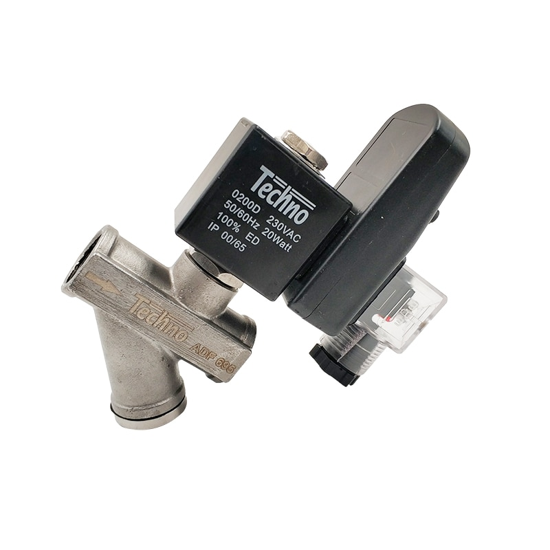 Timer Drain Valve Stainless Steel 304 ADF-695 1/2 Pneumatic Auto Automatic Water Drain Valve enlarge