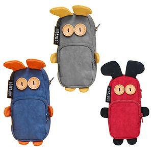Kawaii Novelty Cartoon Rabbit Pencil Case Pen Bag Makeup Pouch School Stationery