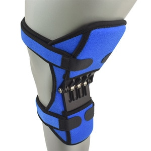 1PcsPower Joint Support Knee Pads Powerful Rebound Spring Force Knee Support Professional Protective Sports Knee Pad