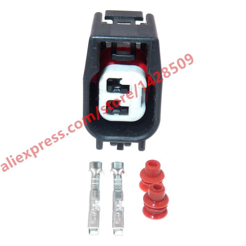 5 conjuntos de 2 pinos 15 series tomada de cablagem automatica conector selado a