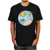 summer ornament men funny cotton top tees short sleeve t shirt t shirt