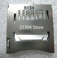 New SD Memory Card Slot For Canon FOR EOS 100D 750D 760D For Nikon S5100 S8200 Digital Camera Repair Part
