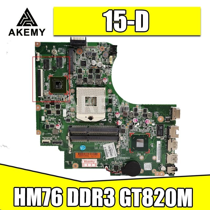 748839-501 748839-001 كمبيوتر محمول لوحة رئيسية لأجهزة HP 15-D 15-D059SR 250 G2 HM76 DDR3 820M GPU اللوحة الرئيسية اختبار كامل