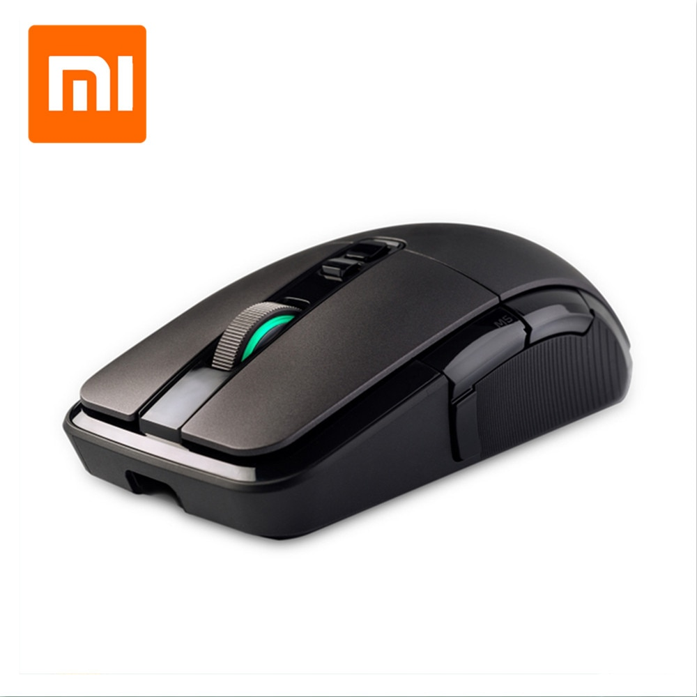 Original Xiaomi mijia Gaming Mouse Wireless and Wired Dual Modde Rechargeable Battery Mouse with 7200DPI Optical RGB Backlight