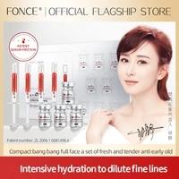 fonce serum protein rejuvenating essence set 1mlx83mlx8 serum whitening no injection moisturizing reduce blackness skin care