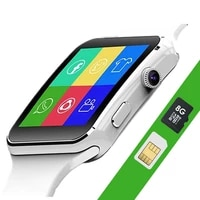 x6 smart watch men support sim tf card camera women fashion smartwatch bluetooth dial with camera touch screen for android ios