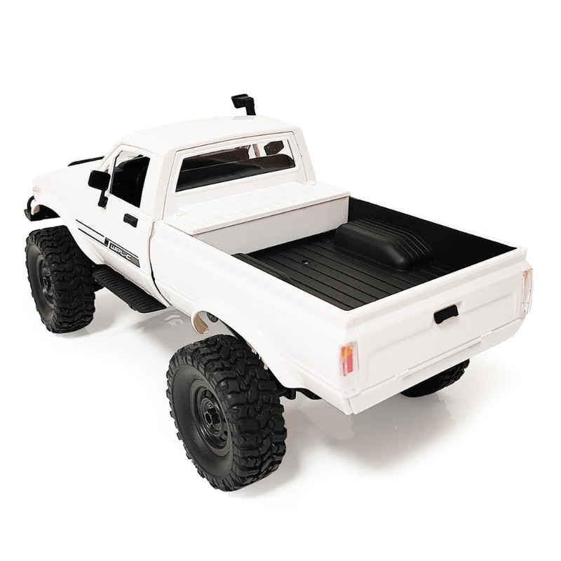 Children Full Scale Four-wheel Drive Pickup RC Rock Crawler Car Model Toy DIY Assembly 4WD RC Truck for WPL C24-1 1/16 RC Car enlarge