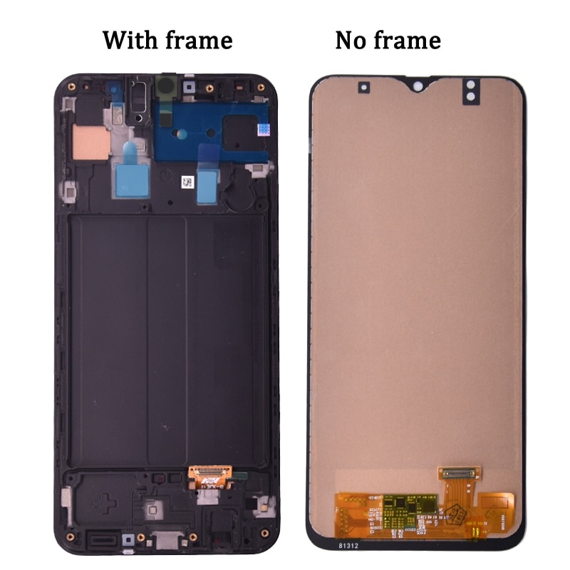 AAA Display For Samsung Galaxy A50 SM-A505FN/DS A505F/DS A505 LCD Touch Screen Digitizer With Frame For Samsung A50 lcd enlarge