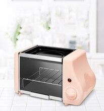 다기능 미니 전기 베이킹 베이커리 로스트 오븐 그릴 튀긴 계란 오믈렛 프라이팬 아침 식사 기계 빵 제조기 토스터