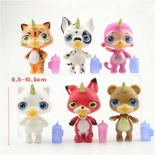 6 arten Poopsie Schleim Einhorn Spucken Schleim Puppe Spielzeug Hobbies Stress Relief Spielzeug Squeeze Für Kinder squishy