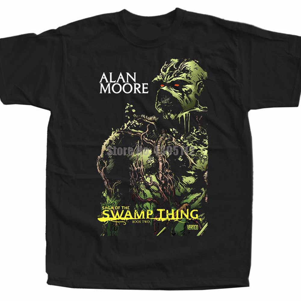 Swamp Thing, película Ray Wise Louis Jourdan, camiseta de banda para hombre, camisetas personalizadas Fishinger, camisetas Hardcore Cexssx