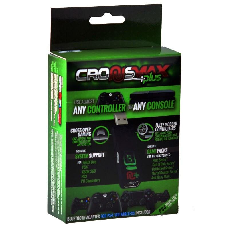 Adaptador de teclado V3 Cronusmax Plus para xbox one X/PS4/PS3/xbox one /XBox360 adaptador de teclado fino PSTV PC