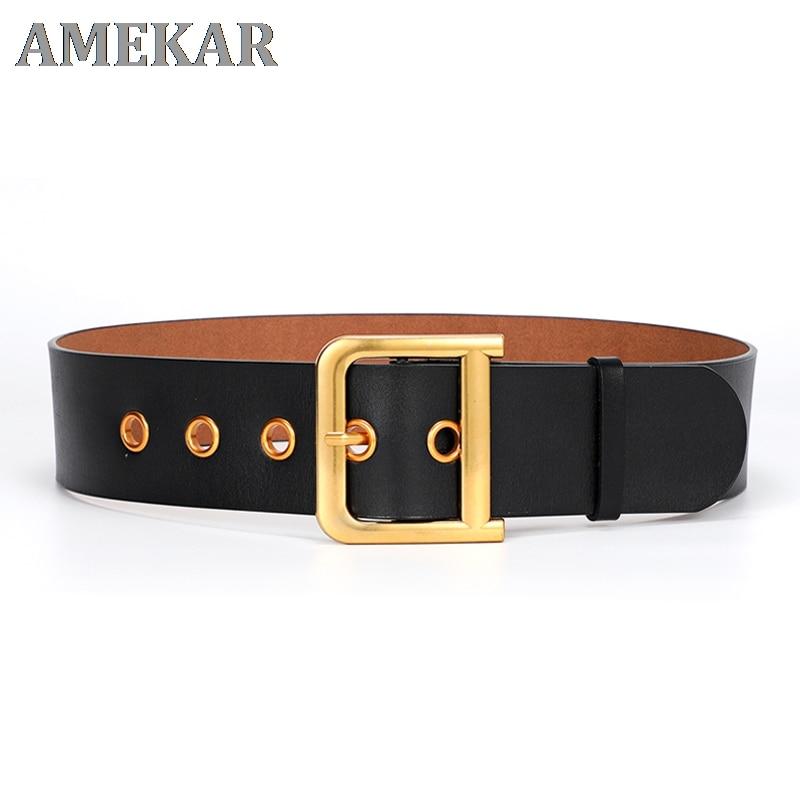Designer belt plus size genuine leather belts for women high quality 2021 luxury brand waist D buckl