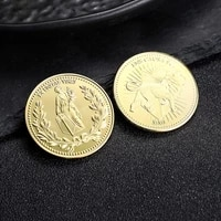 john wick continental hotel gold coin collecting coins cosplay props high quality