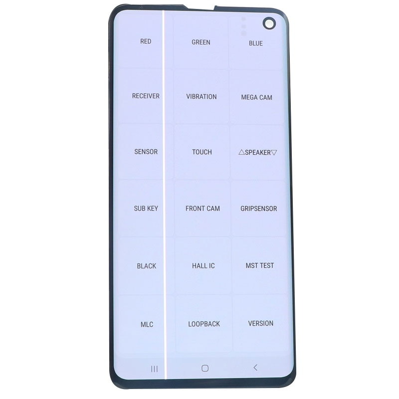 Original LCD Display For SAMSUNG Galaxy S10 G973F G973 SM-G9730 G973F/DS LCD Display Touch Screen Digitizer Assembly With defect enlarge