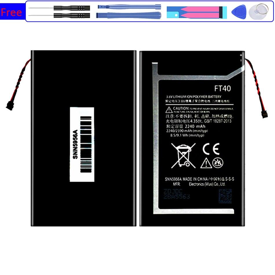 Batería FT40 2240mAh para Moto XT1526 XT1528 XT1063 XT1077 / FT 40...